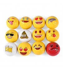 12pcs Golf Ball Emoji