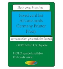 Deck Gather Rare Proxy Cards