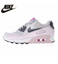 Nike Air Max 90 Women's Running Shoes,  Shoes, Pink, Abrasion Breathable Resistant Shock Absorption 616730 112
