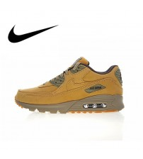 Nike Air Max 90 Premium Men's Running Shoes    Winter Flax 683282-700