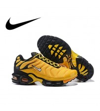 Nike Air Max Plus  Men's Running Shoes  Breathable Comfort  Designer Shockproof Jogging Footwear Athletic