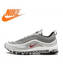Nike Air Max 97 OG QS Women's Breatheable Running Shoes  s Low-top  Brand Designer
