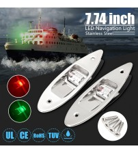 2Pc Univeral Waterproof Marine Boat LED