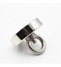 1pc Neodymium magnet uper trong powerful Circular Ring alvage magnetic fihing permanent NdfeB hook holder ea equipment #30