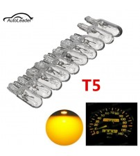 10pc  T5 286  Car Intrument Gauge Meter Replacement Light Bulb Lamp  Amber 1.2W 12V Light Bulb