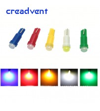 10 pc T5 led car dahboard light intrument automobile door Wedge Gauge reading lamp bulb 12V cob md Car tyling