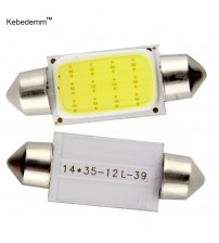 10pc 31mm 36mm 39mm 41mm COB Car Auto interior led Fetoon reading light dome light Map Door Light Licence Plate lamp Bulb