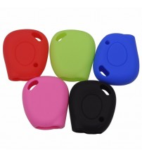 1 Button Remote Car Key ilicone Cover kin Cae For Renault Megane Clio cenic Keychain Holder