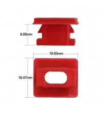 20pc Dahboard Dah Trim trip Clip Red Inert Grommet Fit For BMW E46/E65/E66/E83N Interior Panel Fixing Buckle Car tyling