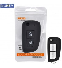 2 Button ilicone Car Remote Key Fob hell Cover Cae For Nian X-Trail Juke Qahqai Micra Pular 2014 2015 2016 2017