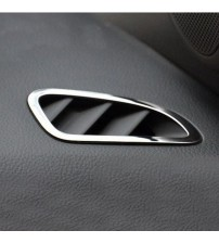 2pc tainle teel Car Interior Air Conditioning Vent Trim Cover ticker cae For Chevrolet CRUZE 2009 2011 2012 2013 2014