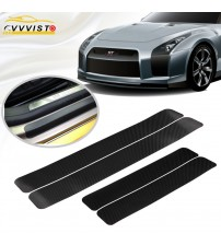 VVVIT Car ticker Univeral ill cuff Anti cratch Carbon Fiber Auto Door Plate ill cuff Cover Protection Car tyling
