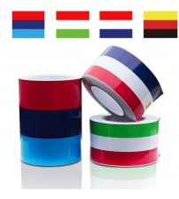 1 pc/lot 2M* 15CM M-Colored Germany Italy French Flag triped Car Hood Vinyl ticker Body Decal For BMW M3 M5 M6 E46 E92 erie