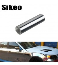 ikeo Auto Car ticker DIY Body Coating Change Color Film Decal Chrome Plating Vinyl Wrap Electroplate ilver Trim Car tyling