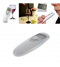 Profeional Pocket Digital Alcohol Breath Teter Analyzer Breathalyzer Detector Tet Teting PFT-641 LCD Diplay