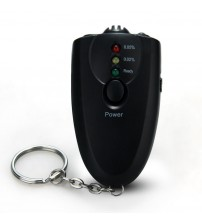 New Arrival  black digital alcohol teter breathalyzer Profeional Alcohol Content Detector alcohol Analyzer For Driver