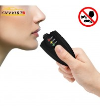 VVVIT Alcohol Teter Breathalyzer Mini Alcohol Keychain Portable Breath Analyzer Alcohol Teter Profeional Digital LED