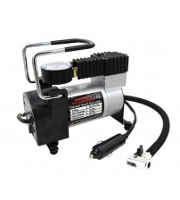 Portable 80PI uper Flow DC 12V  Metal Air Compreor Tyre Inflator Car Air Pump Vehicle Pump Electric Preure Gauge