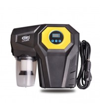 12V DC 120W Car LCE Digital Diplay 4-In-1Inflator Pump Compreor Car Vacuum Cleaner With Light Air Compreor Tire Inflation
