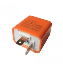 LED Turn ignal Electronic Flaher Relay Control Relay 2-Pin DC12V Can FM Flaher 50 time/min to 200 time/min
