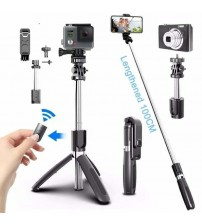 Wireless bluetooth Selfie Stick Tripod With Remote Palo Selfie Extendable Foldable Monopod For Iphone Gopro Huawei Action Camera|Selfie Sticks|   -