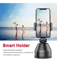 Smart AI Gimbal Robot Cameraman 360° Auto Rotation Face Tracking Object Mobile Phone Stand For Photography/Makeup/Vlog/YouTube|Gimbal Accessories|   -