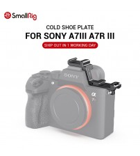 SmallRig A7 III Camera Shoe Mount Cold Shoe Extension Plate for Sony A7III A7R III for LED Mic DIY Options 2662|Camera Cage|   -