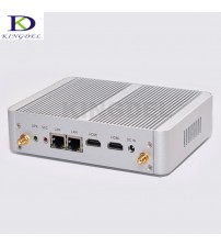 5th Gen. 14nm Intel Celeron N3150 Quad Core/Celeron N3050 Dual Core,Mini PC,Fanless Desktop Computer,2*HDMI,2*LAN,4USB3.0,Win 10