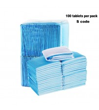 100PCS new Super Absorbent Pet Diaper Puppy Training Pads Dogs Cats Soft leakproof Non slip Pet Pee Absorbent Toilet Pee Wee Mat|Diapers|   -