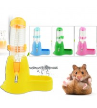 1 Pc Small Animal Accessories Plastic 3 Styles 3 in 1  Food Container  Pet Drinking Bottles Hamster Water Bottle| |   -