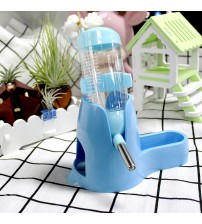 Transfer Pet Feeding Small Animal Automatic Water Bottle Dispenser Pets Food Feeder Bowl For Hamster Squirrel Pet Supplies      -