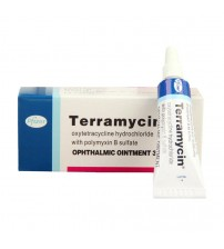 Terramycin eye ointment 3.5g for pet cats and dogs Supplements & Vitamins    -