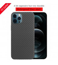 YTF carbon carbon fiber phone Case For iphone 12 Ultra thin Aramid fiber business cover case 12 mini 12 Pro 12 Pro Max shell|Phone Case & Covers|   -