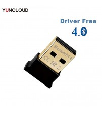 YUNCLOUD Bluetooth USB  Adapter for PC CSR 4.0 USB A BT Dongle Wireless Receiver for Laptop PC  Mouse and Keyboard, Headset|USB Bluetooth Adapters/Dongles|   -