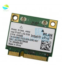 Wireless Adapter 512AN_HMW For Intel WiFi Link 5100 MINI PCI E Card Wlan Adapter Laptop Network 2.4G/5Ghz For Dell|Network Cards|   -