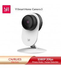 YI Home Camera 3 1080P HD AI Based Smart Home Camera Security Wireless IP Cam Night Vision Office EU Version Android YI Cloud|Surveillance Cameras|   -