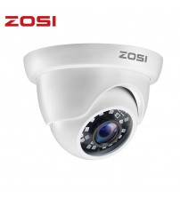 ZOSI 1080P HD TVI 2.0MP CCTV Dome Camera Home Security System 65ft Night Vision Waterproof for 1080P HD TVI DVR Systems|Surveillance Cameras|   -