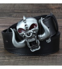3D Motorhead Long Horns Music Big Belt