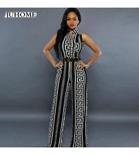 Jumpsuit Elegant One Piece Long Wide Leg
