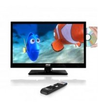 LED TV - HD Flat Screen TV with Built-in CD & DVD Player - 21.5 in.