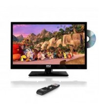 LED TV - HD Flat Screen TV with Built-in CD & DVD Player - 23.6 in.