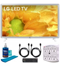 "LG 32LM620BPUA 32"" HDR Smart LED HD TV (2019) Includes Cleaning Kit HDMI Cables & 6-Outlet Surge Adapter (32LM620B 32LM620BP 32LM620B)"