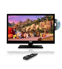 PYLE PTVDLED24 - 23.6'' HD LED TV - 1080p HDTV with Built-in CD/DVD Player