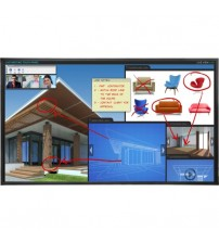 """Planar EP6524K-T 4K Interactive LCD Display - 65"""" LCD - 3840 x 2160 - Direct LED - 500 Nit - 2160p - HDMI - USB - SerialEthernet - TAA Compliant"""
