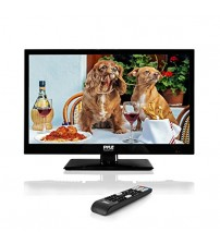 Pyle 18.5-Inch 1080p LED TV | Ultra HD TV | LED Hi Res Widescreen Monitor with HDMI Cable RCA Input | LED TV Monitor | Audio