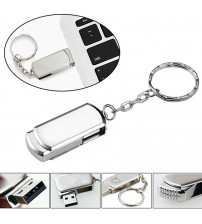 (over 10pcs free logo) 100% capacity mini metal usb flash drive rotary pendrive memory stick 4gb 8gb 16gb 64gb promotional gifts